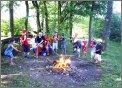 Kindergruppe Lagerfeuer